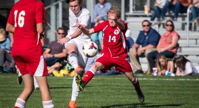 Maple Mountain High School Boys Varsity Soccer beat Springville High School 3-0