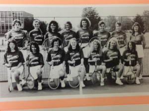 1st Girls Tennis Team