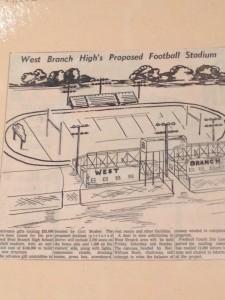 Football Stadium Drawing