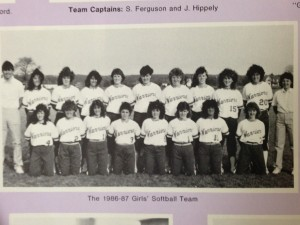 1st Softball Team