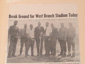 Football Breaking Ground