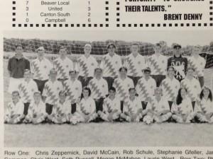 1st Boys Soccer Team