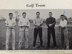 1st Golf Team