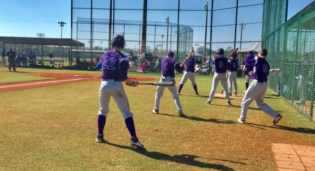Purple Tigers Pitching is Consistent in Gulf Shores
