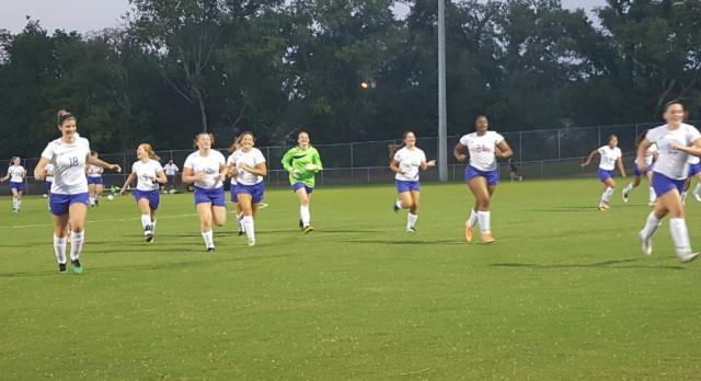 Watertown High School Girls Varsity Soccer beat Cannon County High School 2-0