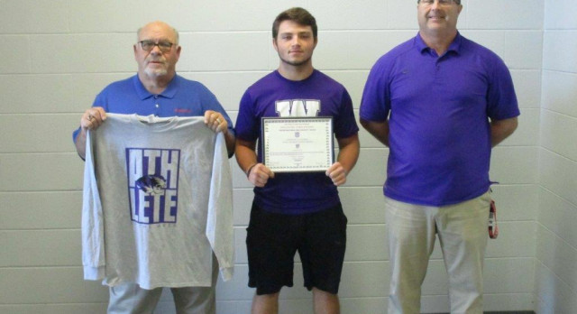 Purple Tiger Football Athlete of the Week