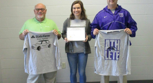 Lady Tigers Volleyball Athlete of the Week