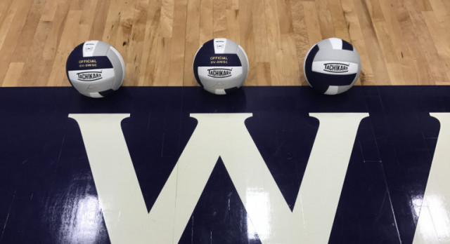 Watertown High School Girls Varsity Volleyball beat Clay County High School 3-2