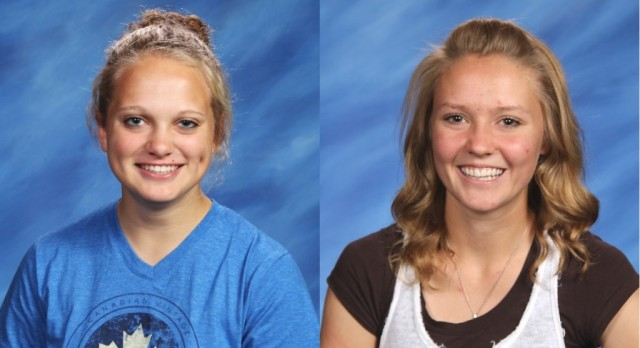 Girls Cross Country has Two Academic All State recipients