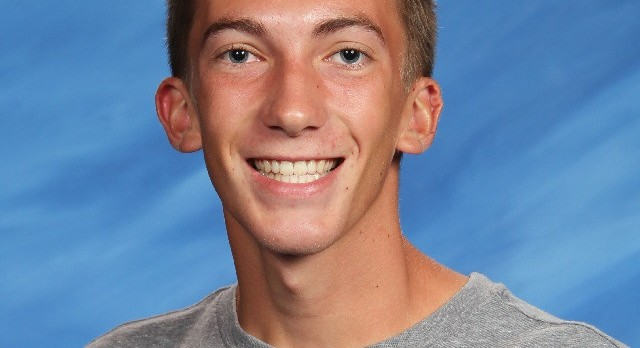 Heston Andersen- Academic All State for Boys Cross Country