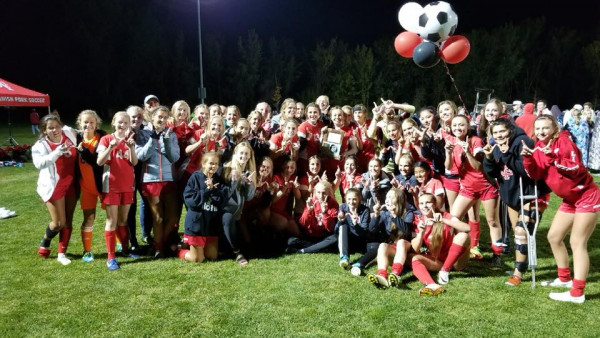 SFHS Girls Soccer Champs