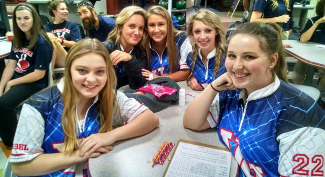 Vestavia Hills High School Girls Varsity Bowling finishes 1st place