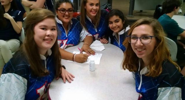 Vestavia Hills High School Girls Junior Varsity Bowling beat Calera High School 781-741