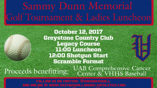 2017 Sammy Dunn Golf Tourney