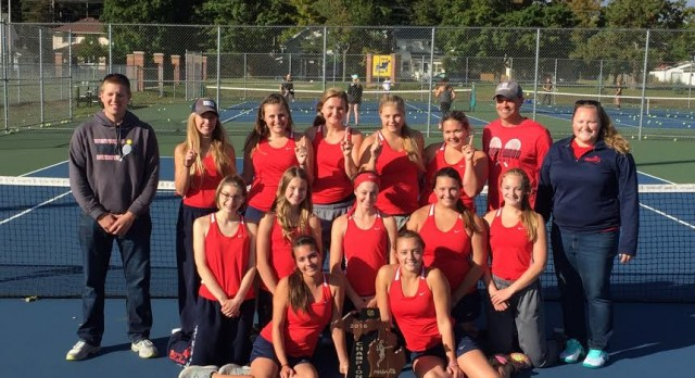 Westwood Girls Tennis Players named All-UP