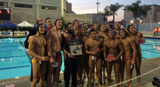 BOYS' WATER POLO CIF-SS DIVISION III CHAMPIONS!