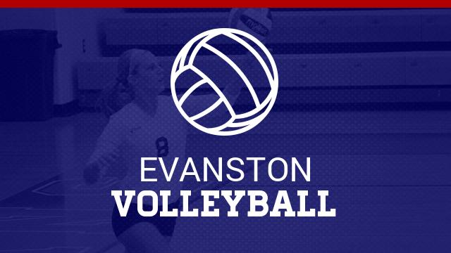 Evanston Volleyball Sweeps Jackson on 10-14-16