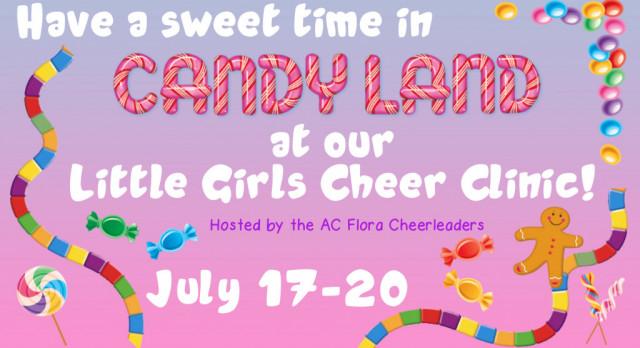 AC Flora Cheer Candy Land Summer Cheer Clinic