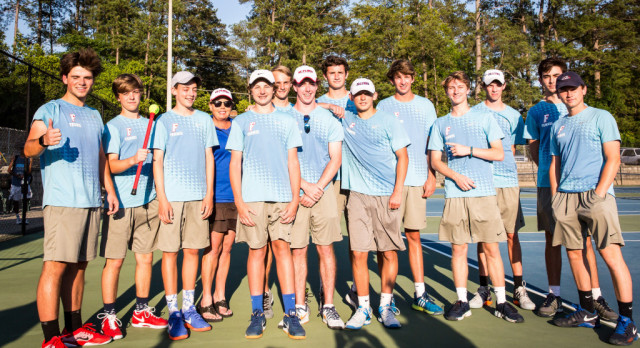 Boys Tennis Places Two on All-Midlands Team