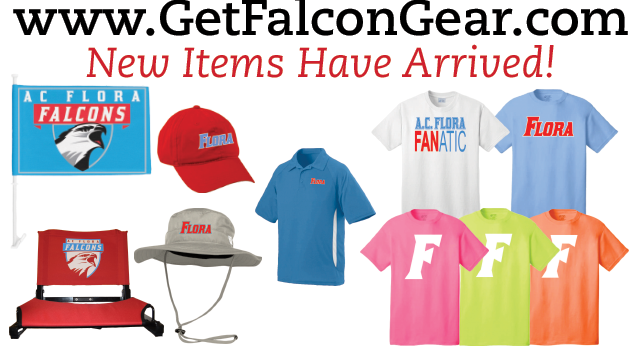 New Items Now Available at www.GetFalconGear.com