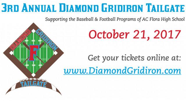 3rd Annual Diamond Gridiron Tailgate This Saturday