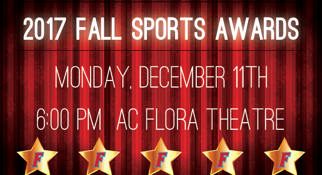 Fall Sports Awards Night – Monday, December 11th