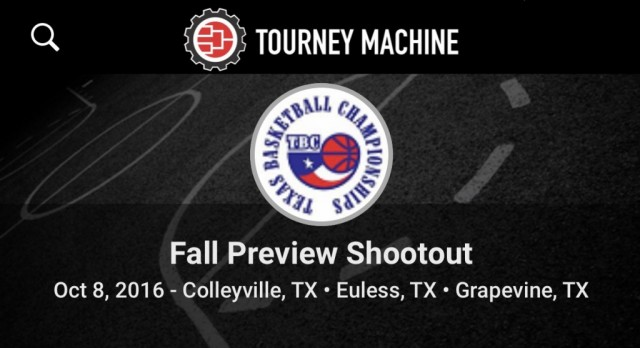 Schedules are Posted for Fall Preview Shootout