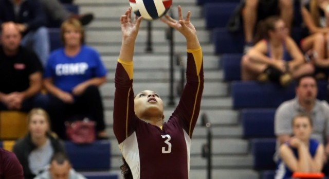 Freshman Volleyball Get First Victory