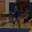 Gymnastics Meet with Agawam and Hampshire