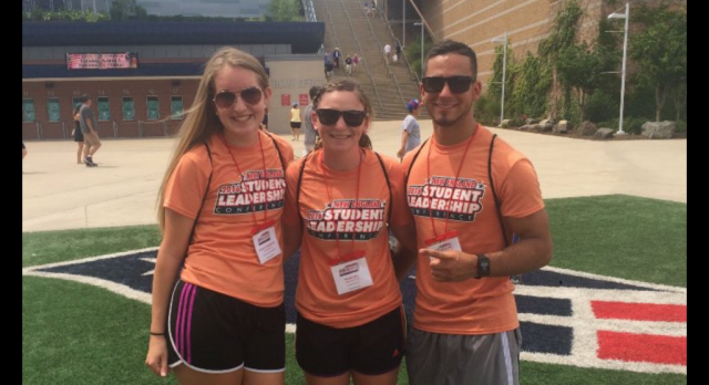 Hannah Chapdelaine attends New England Leadership Conference