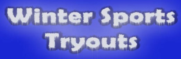 Winter Sports Tryouts Info