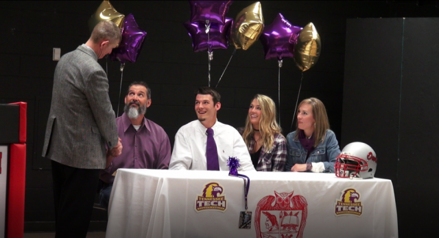 Will Whitson signs to Tennessee Tech (Article from Chattanoogan.com)