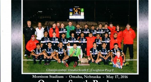 Omaha South High School Boys Varsity Soccer beat Creighton Preparatory School 1-0