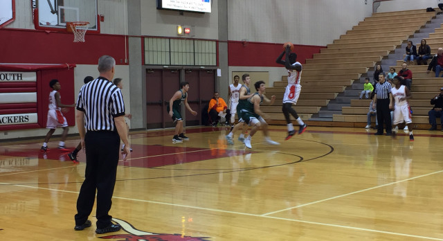 Omaha South High School Boys Varsity Basketball beat Lincoln Southwest High School 67-31