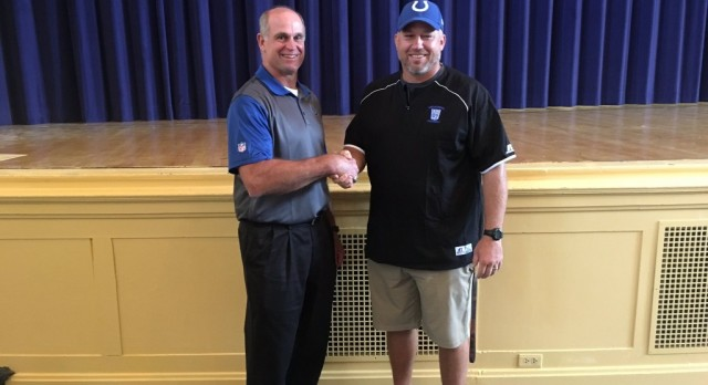 Hurley named Colts/NFL Coach of the Week