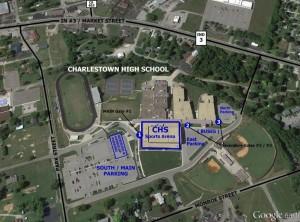 Charlestown High School Map