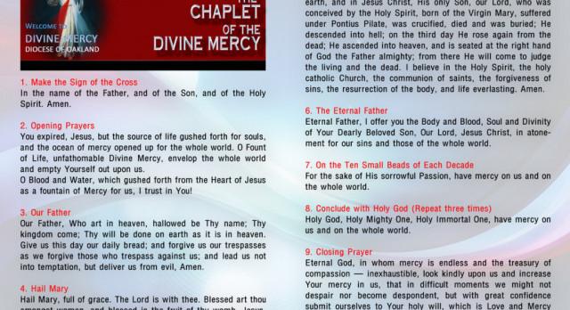 April Novena – Divine Mercy Day 1