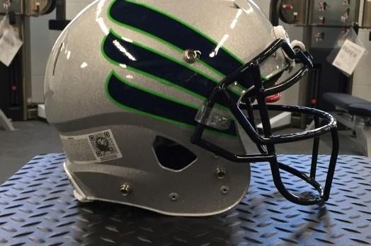 Football helmets are complete!