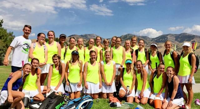 RiverHawk Tennis team is on a roll!