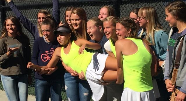 Congratulations to our Girls Tennis Team and Naya Tillitt!