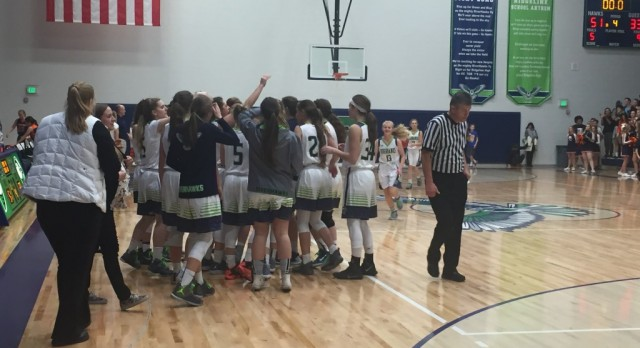 RiverHawks girls basketball team beats Mountain Crest.