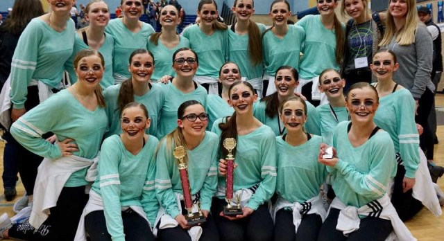 Congratulations to the Aeriettes for taking 1st place last weekend.