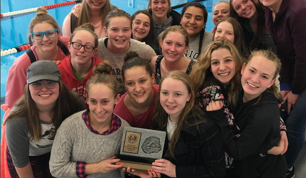 Girls Swim = Region Champs!