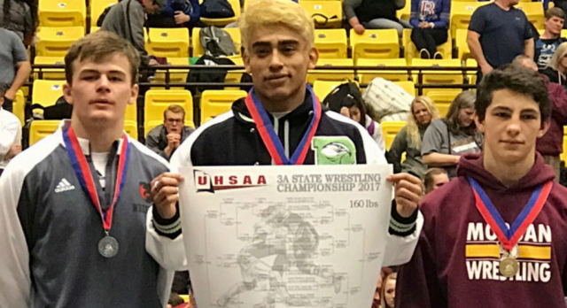 "Congratulations to our first Wrestling State Champion, Conner ""Skippy"" Wengreen!"