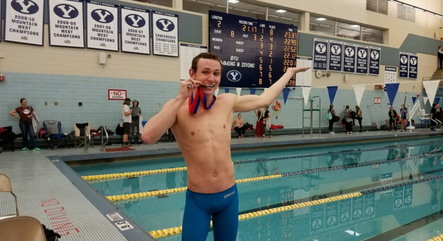 CONGRATULATIONS to Karson Christensen for taking 1st place at state- 50 free.