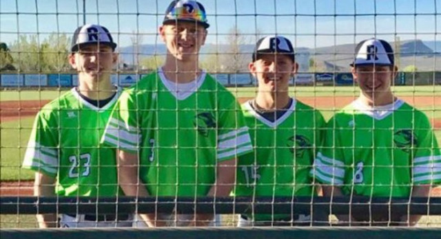 Ridgeline Baseball picks up first win in school history.