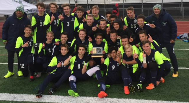 Soccer team takes Region XI title.