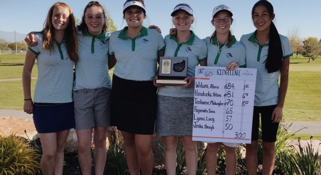 Girls Golf Team takes Region XI Title