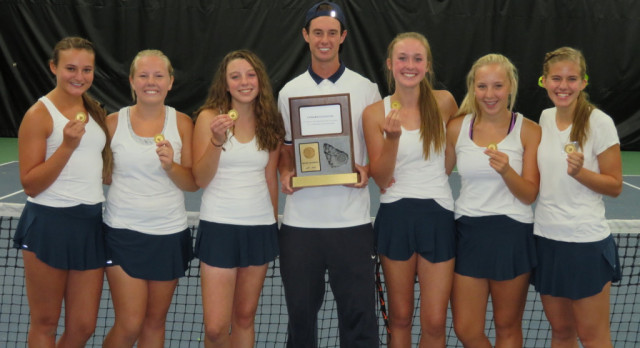 Girls Tennis Wins Region Championship