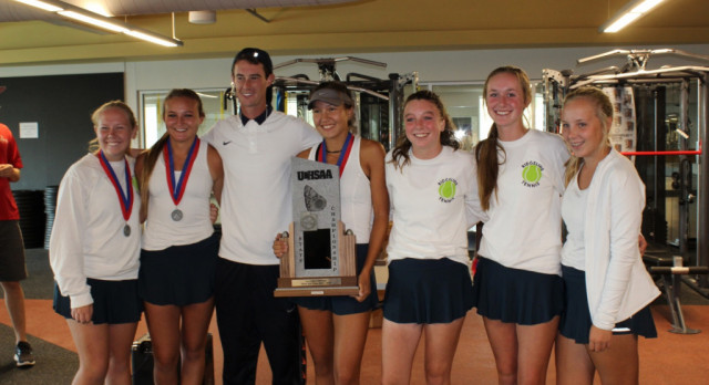 Girls Tennis State Runners Up!